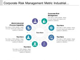 Corporate Risk Management Metric Industrial Process Capability Value Engineering