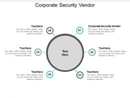 Corporate Security Vendor Ppt Powerpoint Presentation Summary Cpb
