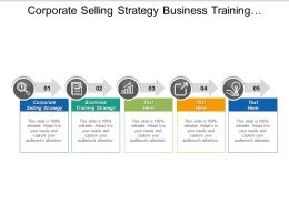 Corporate Selling Strategy Business Training Strategy Marketing Advisory Cpb