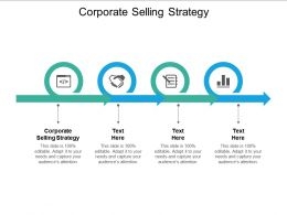 Corporate Selling Strategy Ppt Powerpoint Presentation Slides Gridlines Cpb