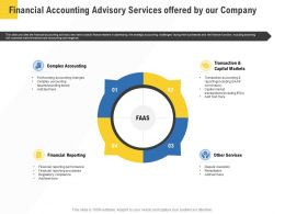 Corporate Service Providers Financial Accounting Advisory Services Offered By Our Company Ppt Rules