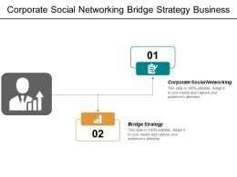Corporate Social Networking Bridge Strategy Business Framework Consumer Identity Cpb