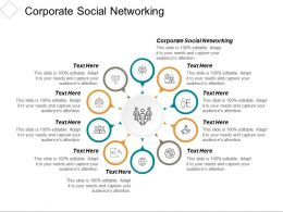Corporate Social Networking Ppt Powerpoint Presentation Ideas Influencers Cpb