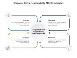 Corporate Social Responsibility Affect Employees Ppt Powerpoint Presentation File Mockup Cpb