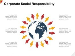 Corporate Social Responsibility Audience Ppt Powerpoint Presentation Styles