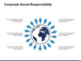 Corporate Social Responsibility Audiences Attention Ppt Powerpoint Slides
