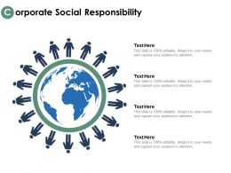 Corporate Social Responsibility Global Locations Ppt Powerpoint Presentation Outline Pictures