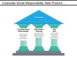 Corporate Social Responsibility New Product Planning Business Objectives Cpb