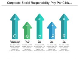 Corporate Social Responsibility Pay Per Click Business Marketing Strategies Cpb