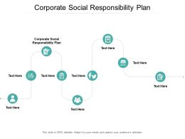 Corporate Social Responsibility Plan Ppt Powerpoint Presentation File Picture Cpb