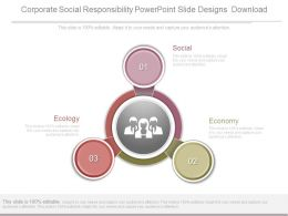 Corporate Social Responsibility Powerpoint Slide Designs Download