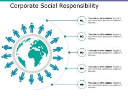 Corporate Social Responsibility Ppt Inspiration Ideas