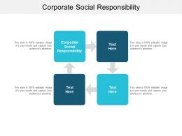 Corporate Social Responsibility Ppt Powerpoint Presentation File Slide Cpb