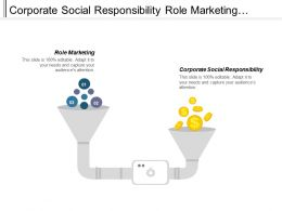 Corporate Social Responsibility Role Marketing Wealth Investment Management Cpb