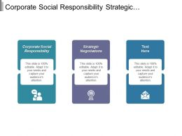 Corporate Social Responsibility Strategic Negotiations Retail Inventory Service System Cpb