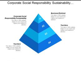 Corporate Social Responsibility Sustainability Business Risk Intel Product Led Cpb
