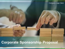 Corporate Sponsorship Proposal Powerpoint Presentation Slide