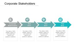 Corporate Stakeholders Ppt Powerpoint Presentation Layouts Diagrams Cpb