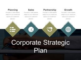 Corporate Strategic Plan Ppt Example File