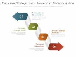 Corporate Strategic Vision Powerpoint Slides Inspiration