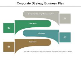 Corporate Strategy Business Plan Ppt Powerpoint Presentation File Example Introduction Cpb