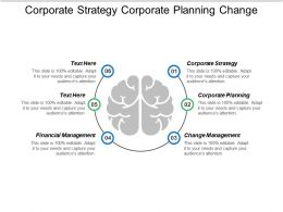 Corporate Strategy Corporate Planning Change Management Financial Management Cpb