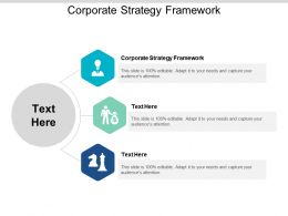 Corporate Strategy Framework Ppt Powerpoint Presentation Styles Show Cpb