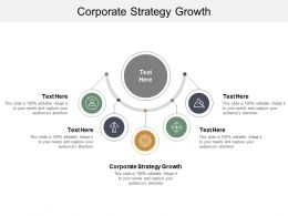 Corporate Strategy Growth Ppt Powerpoint Presentation Model Graphics Cpb