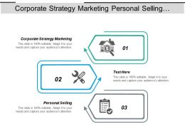 Corporate Strategy Marketing Personal Selling Inventory Management Just Time Cpb