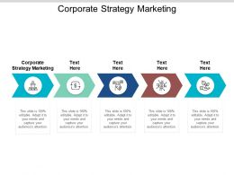 Corporate Strategy Marketing Ppt Powerpoint Presentation Styles Template Cpb