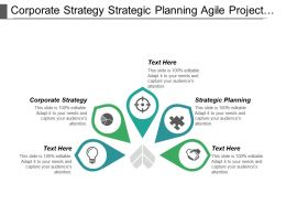 Corporate Strategy Strategic Planning Agile Project Management System Cpb