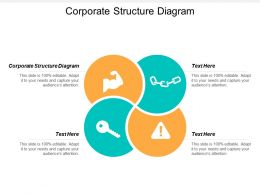 Corporate Structure Diagram Ppt Powerpoint Presentation Professional Aids Cpb