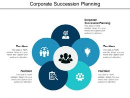 Corporate Succession Planning Ppt Powerpoint Presentation Pictures Display Cpb
