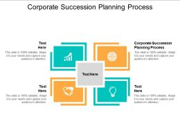 Corporate Succession Planning Process Ppt Powerpoint Presentation Layouts Infographic Template Cpb