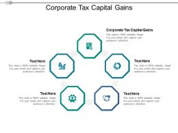 Corporate Tax Capital Gains Ppt Powerpoint Presentation Gallery Vector Cpb