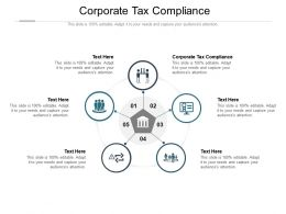 Corporate Tax Compliance Ppt Powerpoint Presentation Gallery Example Topics Cpb