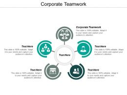 Corporate Teamwork Ppt Powerpoint Presentation Ideas Introduction Cpb