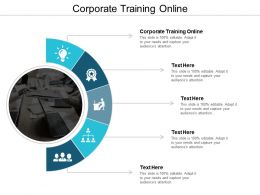 Corporate Training Online Ppt Powerpoint Presentation File Sample Cpb