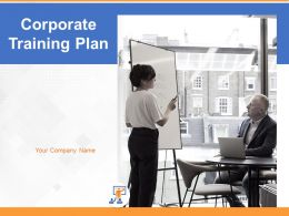 Corporate Training Plan Powerpoint Presentation Slides