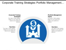 Corporate Training Strategies Portfolio Management Styles Ethics Leadership Cpb