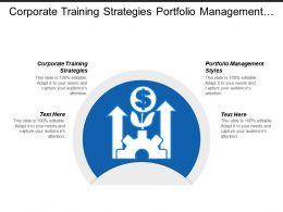 Corporate Training Strategies Portfolio Management Styles Ethics Leadership Cpb