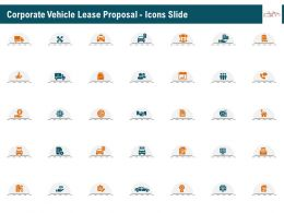 Corporate Vehicle Lease Proposal Icons Slide Ppt Example File