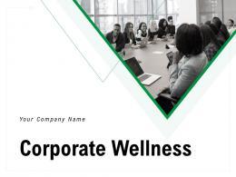 Corporate Wellness Powerpoint Presentation Slides