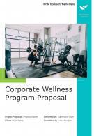 Corporate Wellness Program Proposal Example Document Report Doc Pdf Ppt