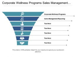 Corporate Wellness Programs Sales Management Reporting Executive Calendars Cpb