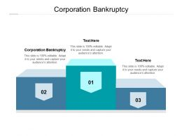 Corporation Bankruptcy Ppt Powerpoint Presentation Slides Introduction Cpb