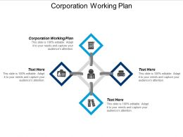 Corporation Working Plan Ppt Powerpoint Presentation File Layout Ideas Cpb