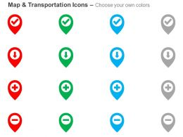 correct_location_down_here_add_location_remove_location_ppt_icons_graphics_Slide03