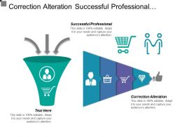 Correction Alteration Successful Professional Technical Skills Industry Knowledge