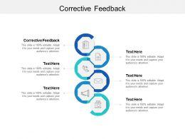 Corrective Feedback Ppt Powerpoint Presentation Portfolio Slide Cpb